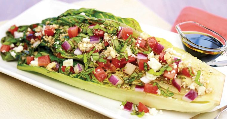 Hungry Grilled  Romaine Salad