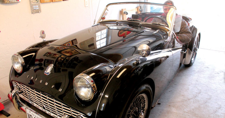Triumph car collection a labor of love