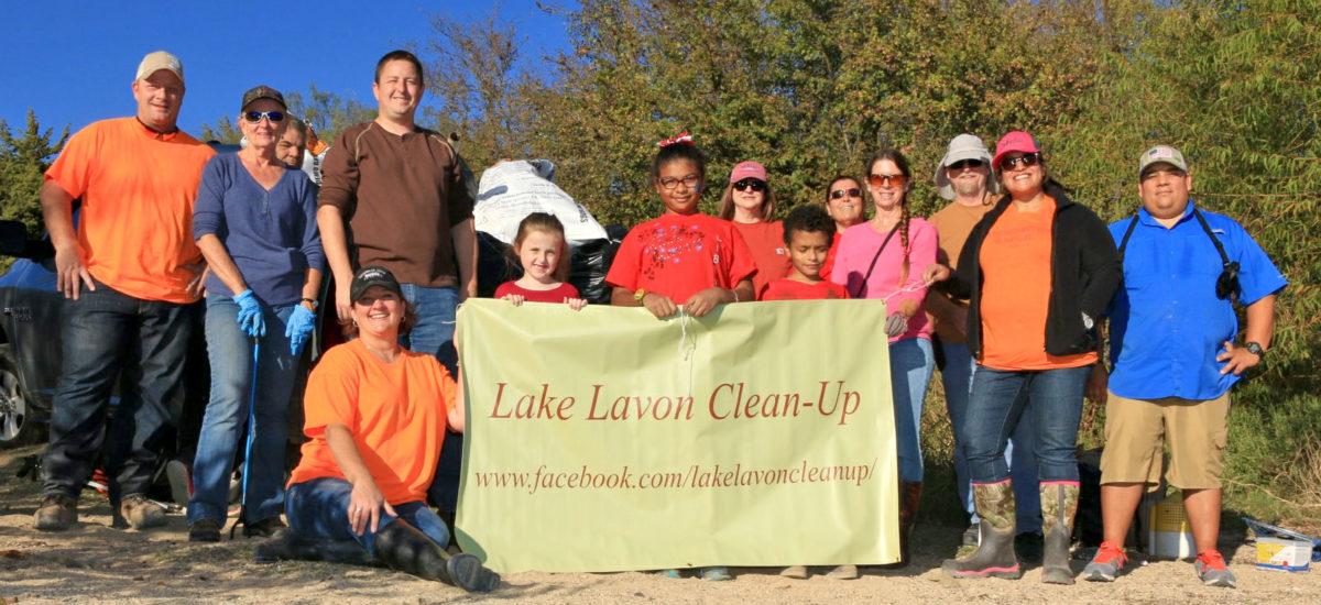 Lake Lavon Clean-up