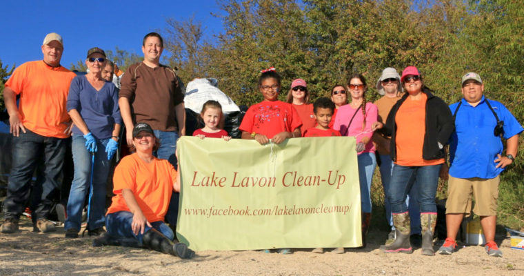 Lake Lavon Clean-up