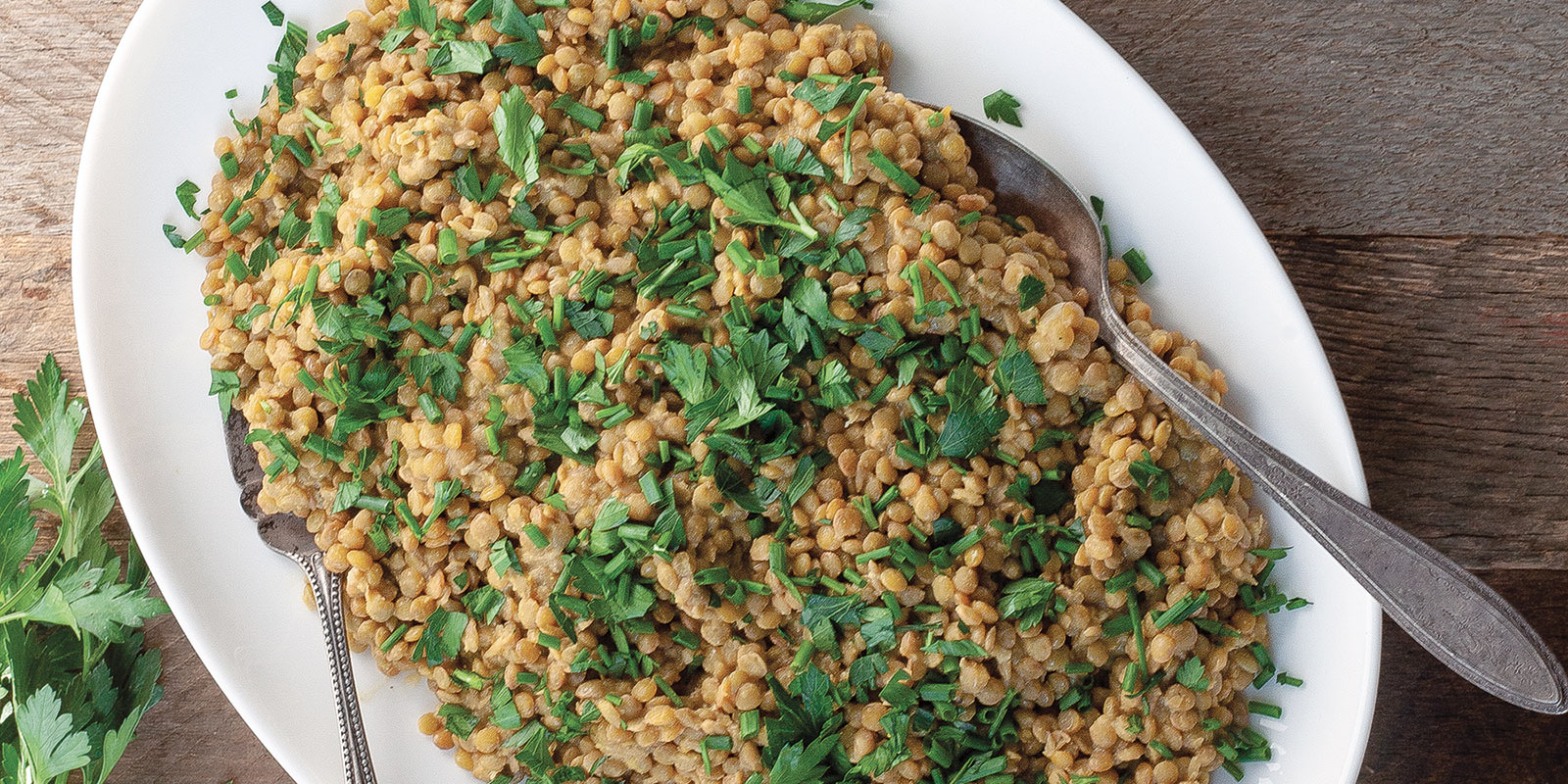 Warm French Lentil Salad with Dijon