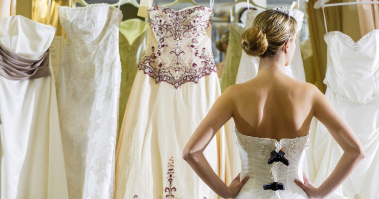 Plan before you shop for a wedding dress